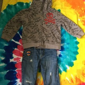 24 month jacket and 18-24 month pants